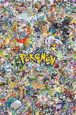 650 Pokemon Game Poster Print 61 X 91 Cm (24x36 Inch)