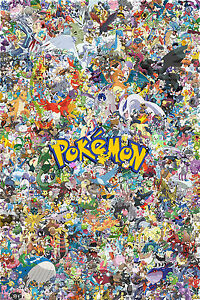 650 Pokemon GAME POSTER PRINT 61 x 91 cm (24x36 inch)