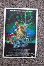 The Empire Strikes Back #4 Lobby Card Movie Poster