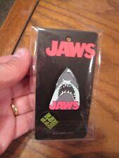 JAWS Enamel Pin - Glow in the Dark - Shark Pin - New 2018