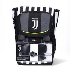 Juventus Zaino Sdoppiabile Scuola 2020/21 Seven Rete Pallone + Orologio Lowell
