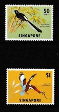 New listing Singapore 1963 Birds Sc# 66a/67a Mnh Mint/Never Hinged