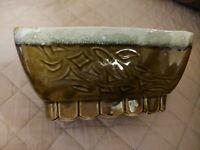 Vintage Mid Century Cookson Pottery Green Planter USA CP4808