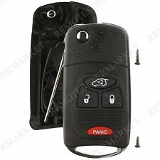 Replacement for Chrysler Pacifica Jeep Liberty Remote Car Key Fob Shell Case