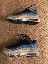 Nike Air Max 95 Baby Blue White Size 13 Jordan Excellent Condition UNC Tarheels