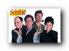 Seinfeld Poster Cast Shot Mint