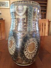 COURJAULT superbe Vase céramique  Pièce Unique Voir Photos