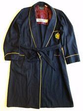"""Vintage U.S. Naval Academy """"B"""" Robe Midshipmen's Store Golden Crest Wool Medium"""