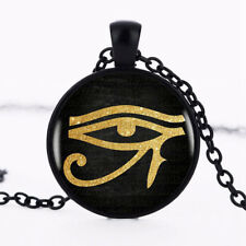 New Egyptian Eye Of Horus Symbol Protection Necklace Pendent Jewellery Gift Bag
