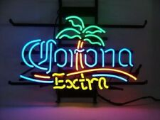 "New Corona Extra Palm Tree Beer Bar Light Lamp Neon Sign 17""x14"""