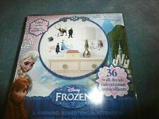 Disney Frozen Movie Wall Decals OLAF ANNA ELSA Bedroom Play Room Home Decor NIP