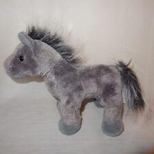 "Horse Gray Arabian Webkinz No Code Ganz Plush Stuffed Animal 9"" Toy"