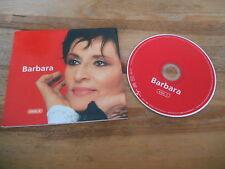 CD Chanson Barbara - Vol.1 (16 Song) UNIVERSAL MUSIC