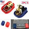 1Pair Car Boat RV Heavy Duty Quick Release Battery Terminal Clip Connector Clamp