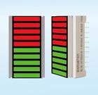 Factory Outlet--2pcs 10seg 27mm Wide LED Bargraph Display Common Anode bi-color
