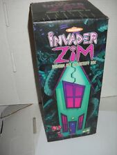 Invader Zim DVD set with house Collector's Box and red GIR figure rare