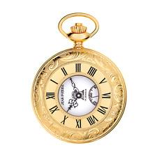 Designer - Jean Pierre of Switzerland - Gold Plated Half Hunter Masonic Watch