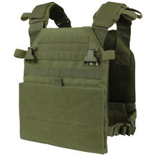 Condor Vanquish Plate Carrier Army Patrol Military Combat MOLLE Vest Olive Drab