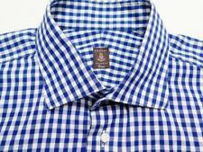 ROBERT TALBOTT ESTATE Gingham Check Cotton Long Sleeve Shirt L