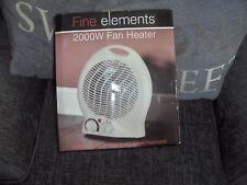 2000W 2kW PORTABLE FLOOR  ELECTRIC FAN HEATER HOT  BNIB
