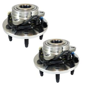 Pair Set 2 Front Wheel Bearing& Hubs Assy ACDelco For Chevy Tahoe GMC Yukon 4WD