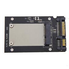 """Black Pcie PCI-E mSATA SSD to 2.5"""" SATA Convertor Adapter Card SSD Case  S101"""