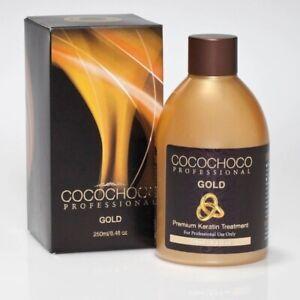 COCOCHOCO Keratin Gold Haarglättung 250ml, Behandlung Hair Treatment Haar Pflege