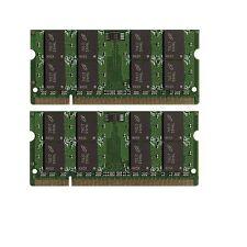 BULK LOT! 4GB (2x2GB) Memory PC2-5300 SODIMM For Dell Inspiron 1720