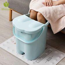 Portable Foot Sauna Bathtub Soaking Foaming Bucket Household Adult Foot Care New