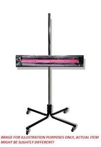 Pro-Tek Short Wave Infrared Heat Stand Up Light - Automotive Paint Booth