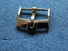 Omega buckle 18 mm colour yellow gold  Fits 20 mm watch Lug size strap