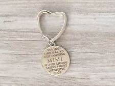 Mimi Keychain, Mimi Gift, Grandma Jewelry