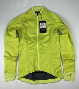 Mavic Aksium Women's Thermo Jacket Yellow Size US XS New