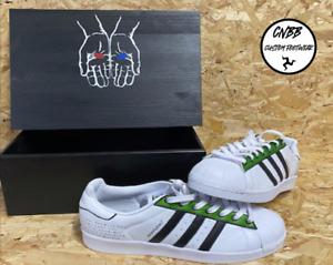 adidas Superstar Morpheus x The Matrix Custom Trainers In Custom Box Size 9