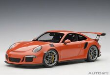 78168 Porsche 911 (991) GT3 Rs (Lava Arancione) 2016 1:18 Autoart