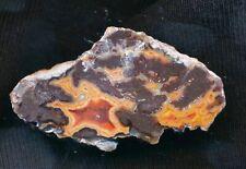 Achat/Agate von Dryhead aus Oregon, USA - mit schöner Farbe - interessant !!!!!