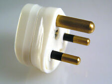 PMS 222 UK Mains Round 3 Pin Plug to BS546 250V 2 Amp 1 Piece OM1052