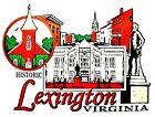 Historic Lexington Virginia Fridge Magnet