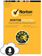 SYMANTEC NORTON UTILITIES 16 (2019) 5 DEVICE LIFETIME LICENSE