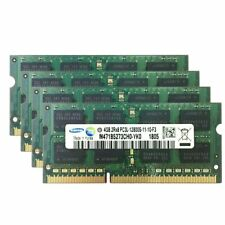 16GB 8GB 4GB PC3L-12800S DDR3 1600Mhz  1.35V SODIMM Memory For Samsung LOT 777