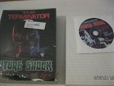 The Terminator Future Shock PC game complete CD-ROM Bethesda Softworks