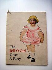 "Vintage ""Jell-O & The Kewpies"" Recipe Booklet w/Darling Pics of The Kewpies *"