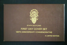 Scotland Limited Edition Staffa First Day Cover FDC Set with COA