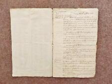 1720–1733 4 manuscript Documents Court cases Chaplin family Lord Chancellor