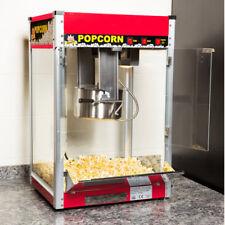 Carnival King Pm50r Royalty Series 12 Oz Red Commercial Popcorn Machine 120 V