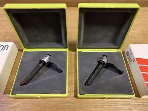 2 x Ortofon Concorde Pro S Cartridges & Stylus with Ortofon Case