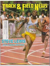 1989 Track and Field News NCAA Preview Steve Lewis UCLA Suzy Favor Wisconsin
