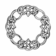 Celtic Knot Work  Sterling Silver Brooch - 2041