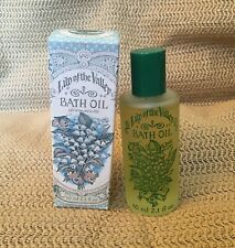 Vintage Crabtree & Evelyn Lily of The Valley Bath Oil 2.1oz/60ml 1983, Rare