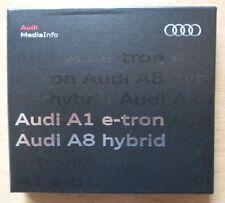 AUDI A1 E-TRON & A8 HYBRID 2010 Media Info Press Kit in English